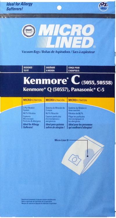Kenmore C 5055 10pk Bags