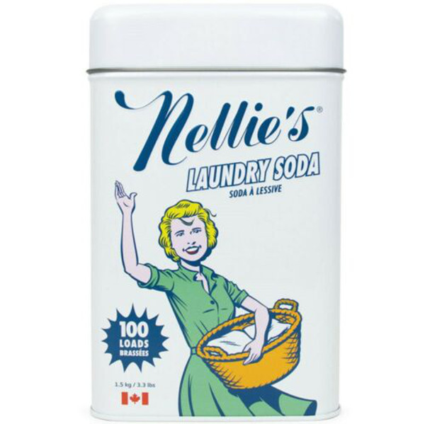 Nellies Laundry Soda 100 Load Tin